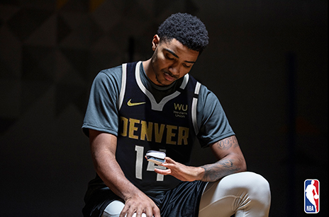 Gary Harris of the Denver Nuggets with Masimo MightySat®