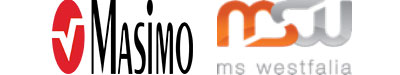 Masimo Logo and MSW Logo