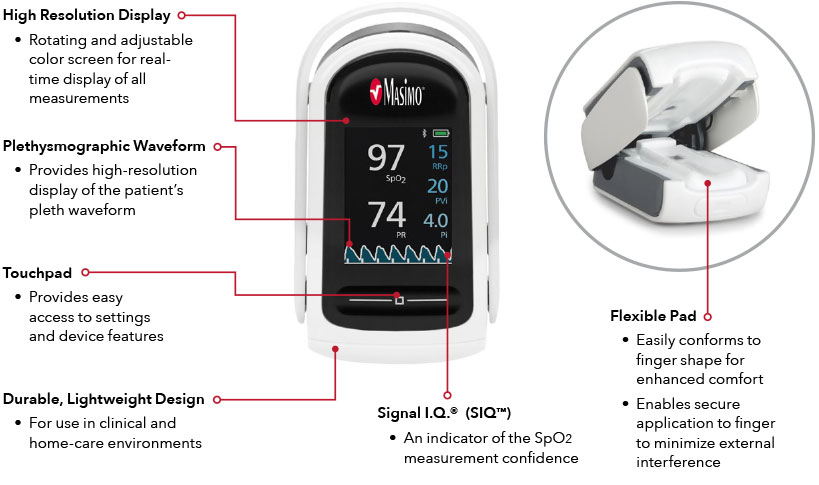 Masimo - MightySat Rx - Features
